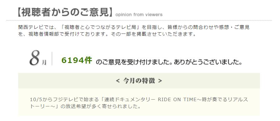 テレビ タイム 東海 ライドオン
